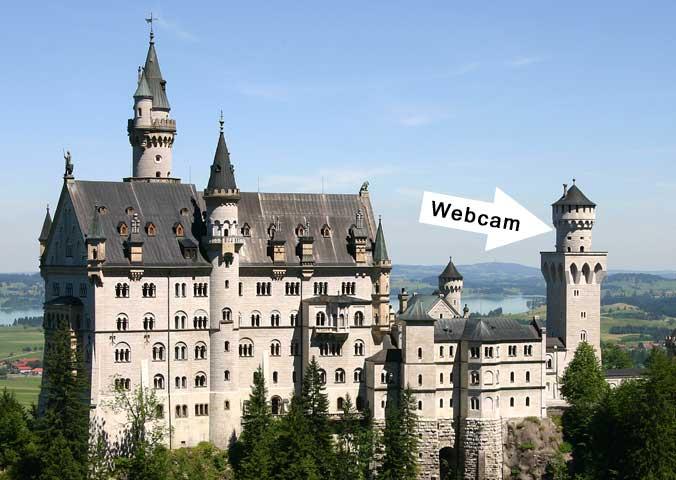 Neuschwanstein Webcam