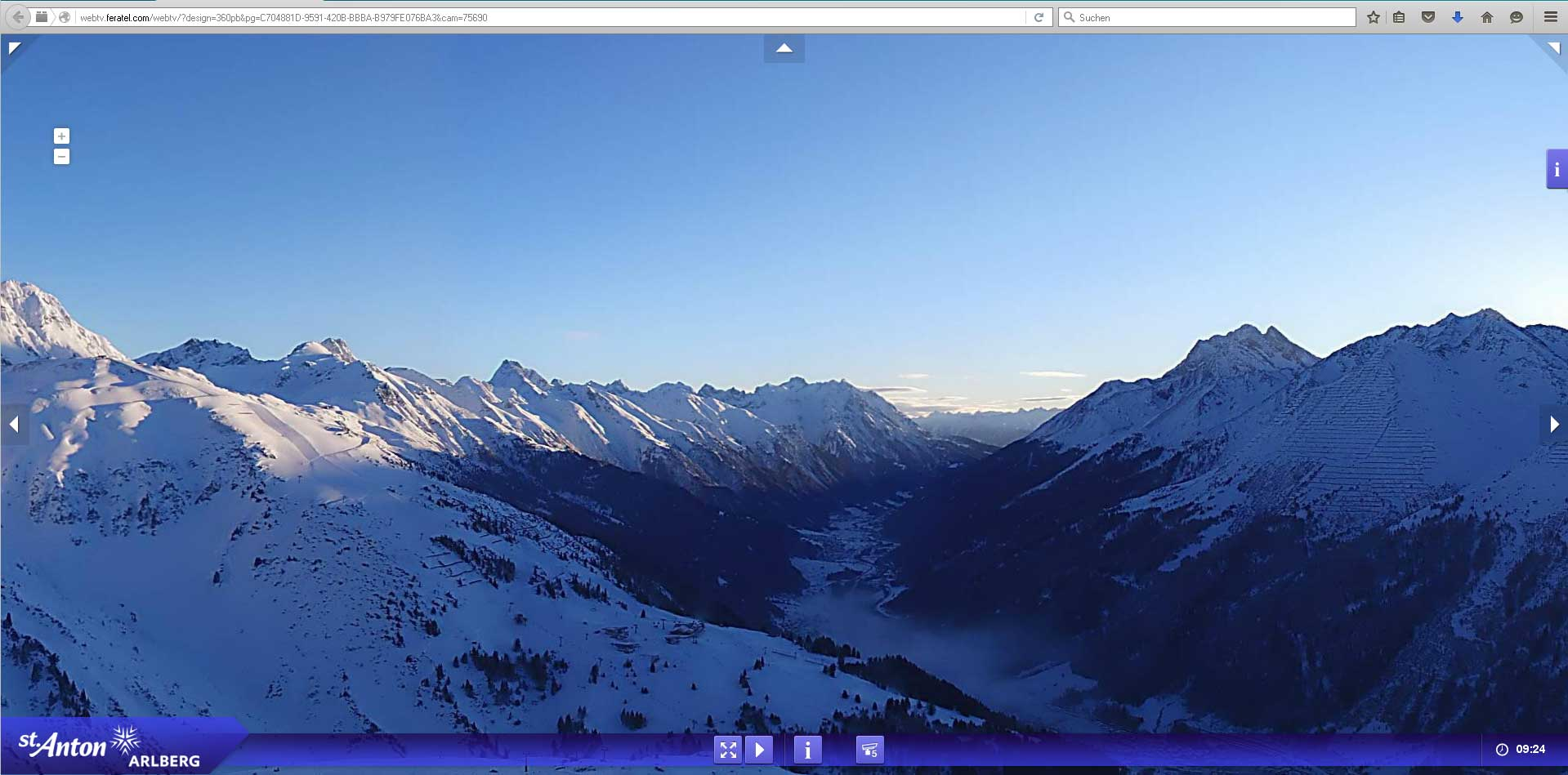 fliegende Webcam 330° St.Anton Arlberg